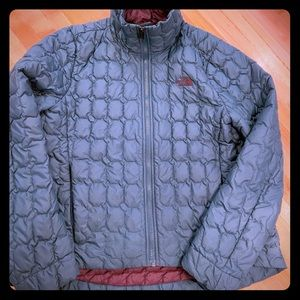 Dark Green North Face Thermoball Bomber